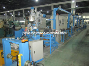 Cable or Electrical Wire (FEP, PP, PVC) Extruder/Extrusion Line (FC-70+35) pictures & photos