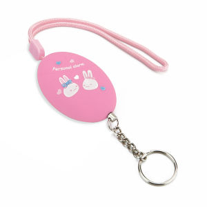ABS Pull Pin Personal Attack Alarm Keychain (Pink) pictures & photos