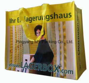 European Style Handbag BOPP PP Woven Lamination Bag for Promotion pictures & photos