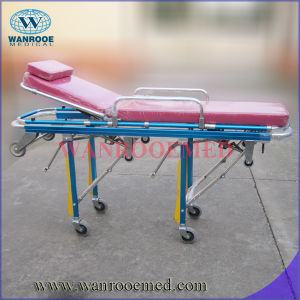 Emergency Patient Transfer Stretcher with Low Position pictures & photos