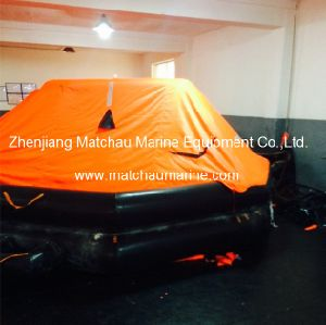 Solsa Approval Throw Over Board Inflatable Life Raft pictures & photos