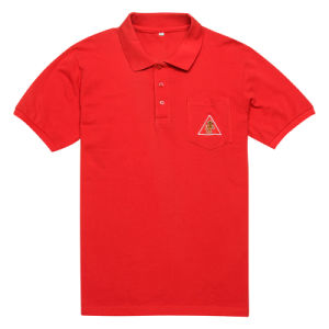 Popular Custom Design Golf Polo Shirt with Pocket (PS045W) pictures & photos