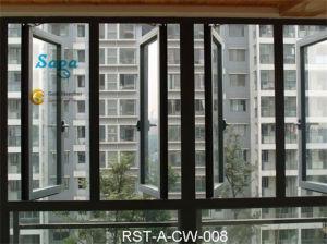 Simple Style Casement Aluminium Window Saga Window