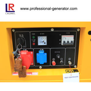 Single Phase 4.5kw Portable Diesel Generator, Electric Generator pictures & photos
