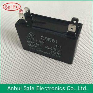 Cbb61 AC Motor Start Capacitor 3 UF pictures & photos