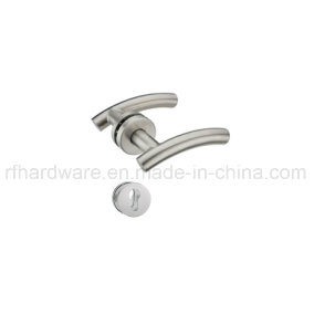 Stainless Steel Tube Level Door Handle (RL006) pictures & photos