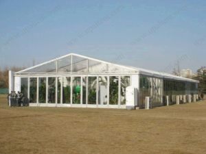Oudoor A-Shape Glass Wall Tent pictures & photos