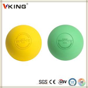 Wholesale Rubber Logo Print Lacrosse Ball pictures & photos