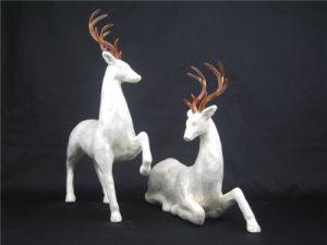 Creative PU Deer Sculpture Polish Surfece Effect pictures & photos