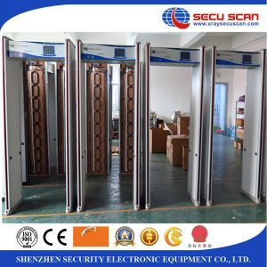 Built-in Battery Power Supplly Walk Through Metal Detector Gate for Oil Company pictures & photos
