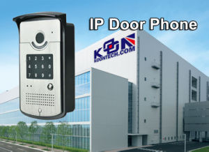 Video Door Phone with Camera Factory Security Access Control Knzd-42 pictures & photos
