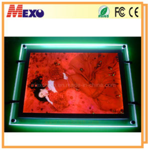 LED Backlit Acrylic Slim Advertising Display Light Box (CSH01-A3L-02) pictures & photos