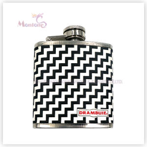 3 Ounce Liquor/Whisky Flask, Leather Covered Stainless Steel Hip Flask pictures & photos