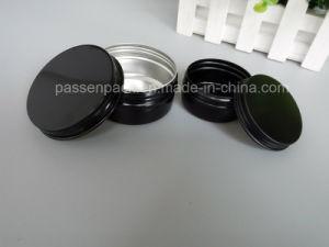 150g Matte Black Aluminum Cosmetic Cream Jar (PPC-ATC-015) pictures & photos