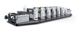 High Speed Flexography Printing Machine for Paper or Film pictures & photos