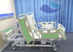 AG-By003c Hot Sale Economic Five Functions Electric ICU Bed pictures & photos
