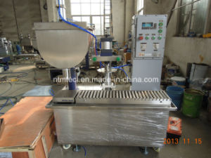 Automatic Weighing Type Liquid Filling and Capping Machine for Paint, Coating, Glue, Ink, Chemical pictures & photos
