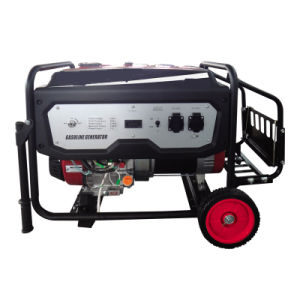 Fusinda 2.5kw Gasoline Petrol Generator with Side Battery Rack, Trolley Type pictures & photos