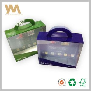 Good Quality Clear PVC Packing Box Wth Handle pictures & photos