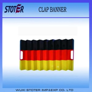 Noise Maker Paper Material Fan Clap Banners, Germany Flag pictures & photos