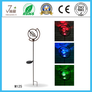 Metal Creative Iron Art and Craft with Solar Light for Home Decoration pictures & photos