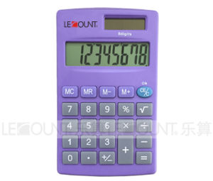 8 Digits Dual Power Handheld Calculator with Various Optional Colors (LC332) pictures & photos