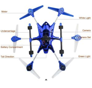 3176098-4.5CH Super Alloy Six Axis Gyro Hexacopter RTF RC Fpv Quadcopter Drone with 2.0MP HD Camera pictures & photos