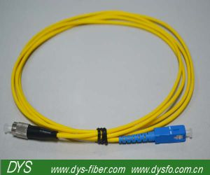 Sc-FC Duplex Optical Fiber Patch Cord Low Insertion Loss Patch Cord pictures & photos