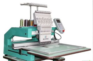 Single Head Cap Embroidery Machine for Garment/Curtain/Blanket pictures & photos