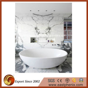 Natural Polished White Tile for Bahtoom Wall Tile pictures & photos