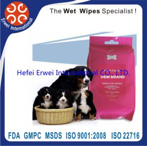Achol Free Wholesale Antibacterial Pet Wet Wipes pictures & photos