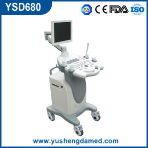 New Trolley Color Doppler Ultrasound Machine (YSD680) pictures & photos