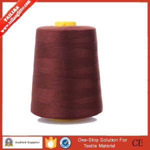 2016 Tailian Wholesale Dyed 100% Polyester 40/2 Sewing Thread pictures & photos