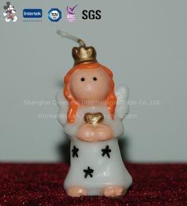 Angel Shaped Christmas Candle for Cake pictures & photos
