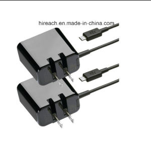 Folding Blade 1.8A Micro-USB Home Travel Charger Wall Charger for Blackberry & Samsung with 1.8m Cable pictures & photos
