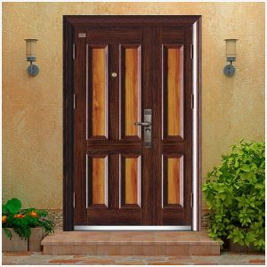 Steel Armored Splicing Security Door, One and Half Design pictures & photos