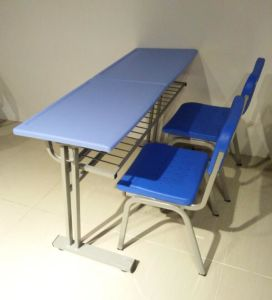 Hot Sale School Desk and Chair Children Desk and Chair pictures & photos