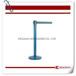 Eco Friendly Steel Powder Coated Retractable Belt Stanchions pictures & photos