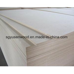 Medium Density Fibre Board / Plain MDF/Raw MDF/Melamine MDF 18mm pictures & photos