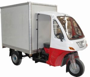 Container Three Wheel Motorcycle pictures & photos