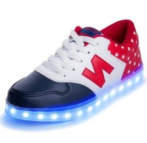 OEM New Design LED Shoes for Ladies pictures & photos