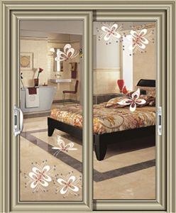 Interior Aluminium Sliding Door with Tempered Laminated Glass pictures & photos