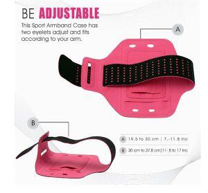Waterproof Neoprene Running Armband for Smart iPhone pictures & photos