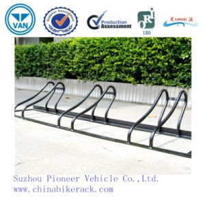 High Quality Outdoor Powder Coated Bike Parking Rack pictures & photos