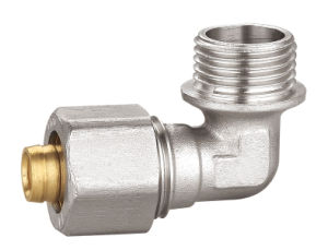 Brass Pipe Fitting with Elbow Male Bf-5004 pictures & photos