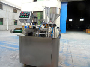 High Speed Capsule Powder Rotary K Cup Filling Machine pictures & photos