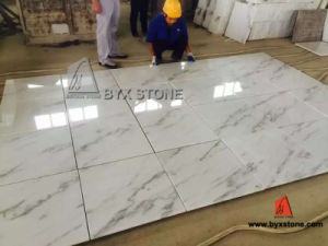 Cheap China White Marble Floor and Wall Tile for Indoor pictures & photos