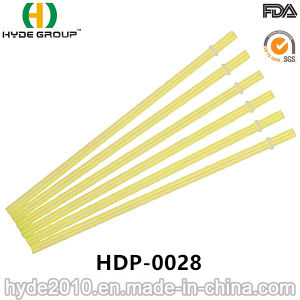 Hot Sale Hard and Straight Plastic Straw for Drinking (HDP-0028) pictures & photos