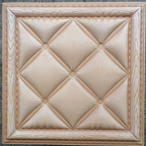 Luxury 3D PU Leather Wall Panel for Decoration (HS-MK013) pictures & photos