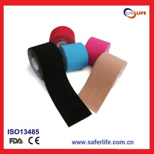 5cm*25cm Pre Cut Adhesive Kinesiology Tape pictures & photos